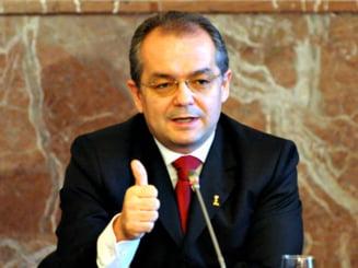 Emil Boc anunta cum se impart banii la rectificarea bugetara (Video)