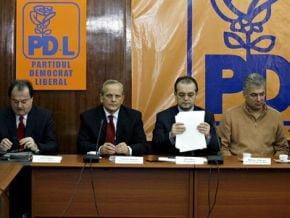 Emil Boc se intalneste cu deputatii PD-L, la Vila Lac 1