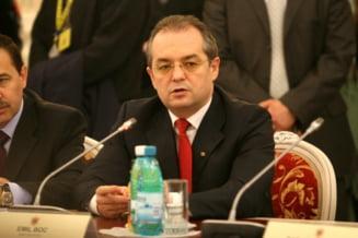 Emil Boc se intalneste cu sindicalistii