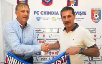 Emil Sandoi a batut palma cu echipa Chindia Targoviste. Cand va conduce primul antrenament