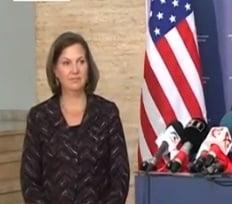 Emisarul SUA, Victoria Nuland: Ii indemn pe romani sa lupte in continuare pentru independenta sistemului