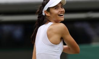 Emma Răducanu s-a întors pe teren, după succesul imens de la Wimbledon! Cum s-a descurcat britanica, cu tată român