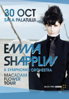 "Emma Shapplin, ""diva desculta"" cu voce angelica, concerteaza in Bucuresti"
