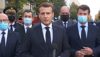 """Emmanuel Macron, dupa atacul de la Nisa: """"Nu vom ceda cu nimic in ceea ce priveste valorile franceze"""""""