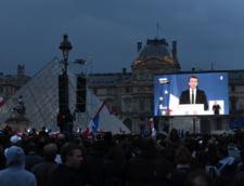 Emmanuel Macron, presedintele ales al Frantei: Voi reuni si voi impaca, pentru ca vreau unitatea poporului nostru