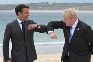 Emmanuel Macron si Boris Johnson, disputa la G7 pe marginea geografiei post-Brexit a Regatului Unit
