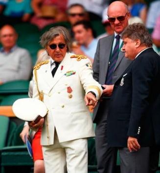 Englezii nu-si revin: Ce scriu despre aparitia generalului Ilie Nastase de la Wimbledon