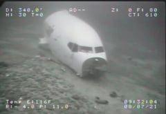 Epava avionului prabusit in Honolulu, gasita pe fundul oceanului. Imagini surprinse la 128 de metri adancime FOTO