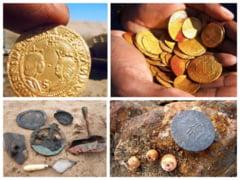 Epava plina cu monede de aur descoperita in desert