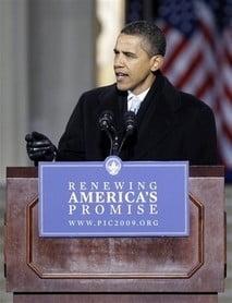 Era Obama incepe marti. Washingtonul isi tine respiratia
