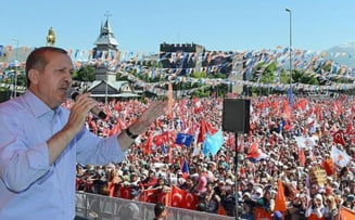 Erdogan: Protestele servesc dusmanilor Turciei!