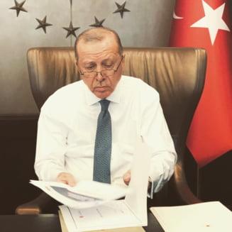 """Erdogan, in favoarea unui dialog cu o """"abordare constructiva"""" in vederea solutionarii diferendului cu Grecia in estul Mediteranei"""