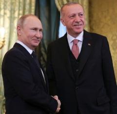 Erdogan a discutat cu Putin despre conflictul din Libia