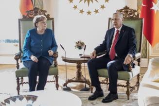 Erdogan si Merkel au discutat intr-o videoconferinta despre disputa din Mediterana de Est