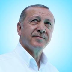 Erdogan si copiii de refugiati