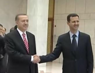 Erdogan vs. Assad: Doua avioane militare siriene au fost doborate de turci