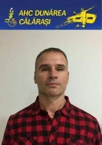 Eremia Paraianu, noul antrenor secund al AHC Dunarea Calarasi