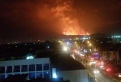 Eruptie infricosatoare a unuia dintre cei mai periculosi vulcani din lume. Oras cu 2 milioane de locuitori evacuat in graba VIDEO
