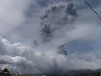 Eruptie vulcanica neasteptata: Nu a mai existat un pericol real de 140 de ani