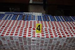 Esigari de contrabanda, descoperite si confiscate in Vama Giurgiu