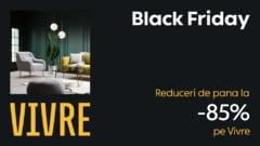 Este Black Friday pe Vivre, cu reduceri de pana la 85% la aproximativ 400.000 de produse