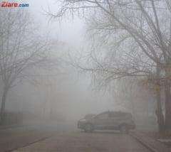 Este cod galben de ceata in 14 judete