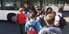 Este oficial! Transportul in comun, gratuit pentru elevi