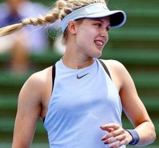 Eugenie Bouchard, despre meciul cu Simona Halep de la Australian Open