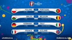 Euro 2016 : Sferturile de finala. Cote si pronosticuri la pariuri.