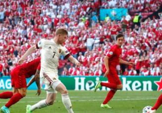 Euro 2020: Danemarca - Belgia, primul meci al nordicilor fara Christian Eriksen. Echipa calificata in optimi