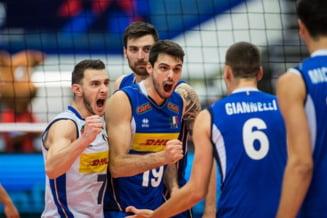 Euro Volei (M): Italia si Slovenia - calificate in semifinale