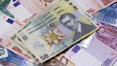 Euro a atins un nou maxim istoric în raport cu leul. Care este cursul afişat de BNR