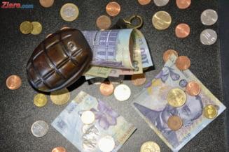 Euro continua sa creasca si atinge un nou maxim. Cel mai slab leu din istorie