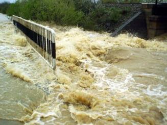Europa Centrala, amenintata de inundatii, dupa ploi