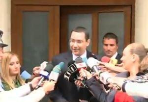 Europarlamentarii PSD il sustin pe Ponta; Parlamentul, singura institutie care poate decide