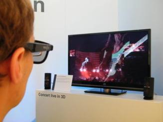 Europenii au cumparat 25.000 de televizoare 3D