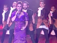 Eurovision 2013: Luminita Anghel, socata de decizia unui arbitru