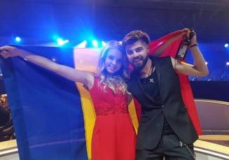 Eurovision 2017: Ce spun Ilinca si Alex despre locul ocupat de Romania