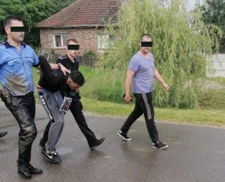 Evadatul a fost prins duminica de politisti in Madaras