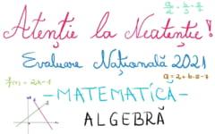 Evaluare Nationala 2021. Lectii de matematica predate online: probleme la algebra si geometrie VIDEO