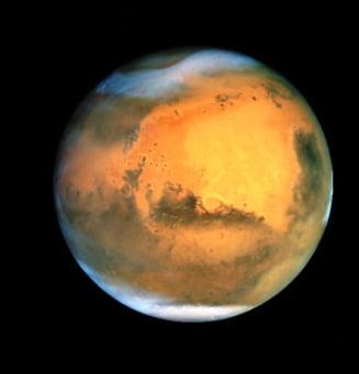 Eveniment astronomic: Marte, Pamantul si Soarele, perfect aliniate