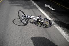 Eveniment rutier produs de un biciclist aflat sub influenta alcoolului