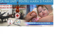 Eveniment umanitar pentru o fetita de un an