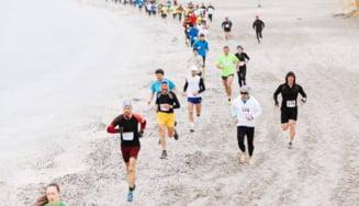 Eveniment unic in lumea sportivilor din Europa. Sute de participanti, la Maratonul Nisipului din Mamaia