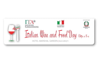 Evenimentul Italian Wine and Food Day are loc miercuri, 23 mai, la Bucuresti