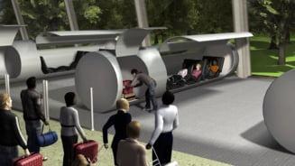 Excentricitate de miliardar sau vehiculul viitorului? Hyperloop devine realitate! (Video&Galerie foto)