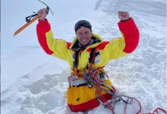 """Excepțional! Primul om fără picioare care a urcat pe """"acoperișul lumii"""", la peste 8.000 de metri. Imagini incredibile VIDEO"""