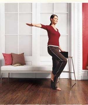 Exercitii de echilibru pentru un abdomen puternic (Galerie foto)