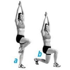 Exercitii rapide pentru picioare perfecte (Galerie foto)