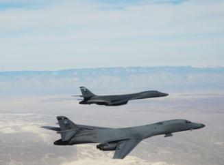 Exercitiu de forta: Bombardiere americane si avioane japoneze si sud-coreene au survolat Coreea de Nord